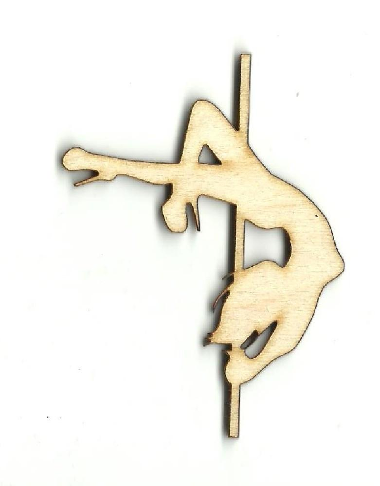Woman Dancer - Laser Cut Wood Shape Ppl127 Craft Supply