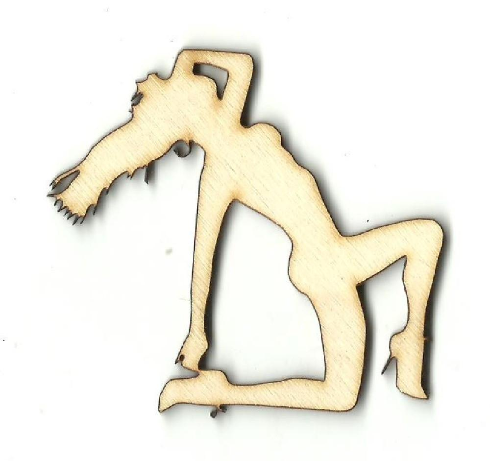 Woman - Laser Cut Wood Shape Ppl124 Craft Supply