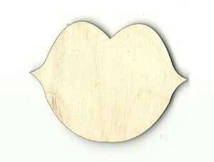 Lips - Laser Cut Wood Shape Ppl45 Craft Supply
