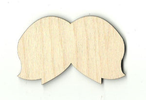 Mustache - Laser Cut Wood Shape Ppl49 Craft Supply