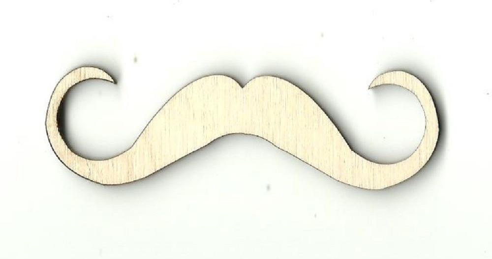 Mustache - Laser Cut Wood Shape Ppl50 Craft Supply