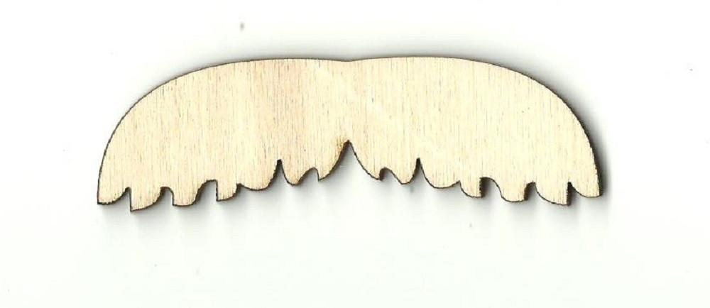 Mustache - Laser Cut Wood Shape Ppl54 Craft Supply