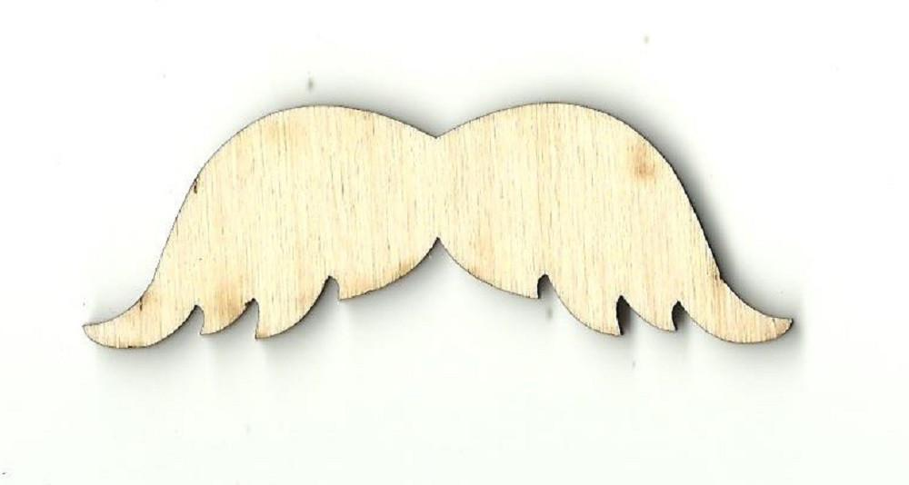Mustache - Laser Cut Wood Shape Ppl55 Craft Supply