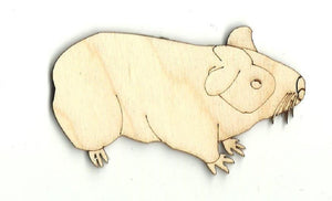Gerbil - Laser Cut Wood Shape Rdt2 Craft Supply