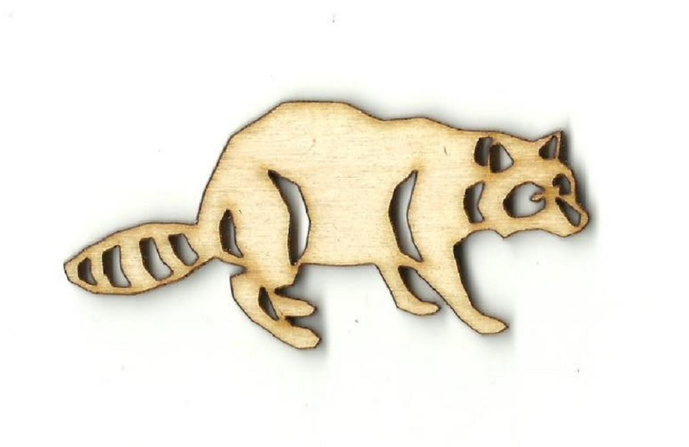 Raccoon - Laser Cut Wood Shape Rdt26 Craft Supply