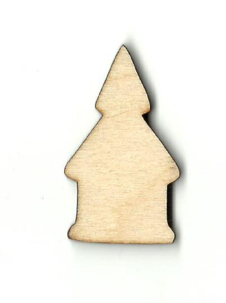 Church - Laser Cut Wood Shape Rel18 Craft Supply
