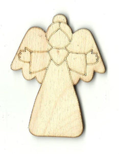 Angel - Laser Cut Wood Shape Rel23 Craft Supply