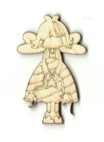Angel - Laser Cut Wood Shape REL24
