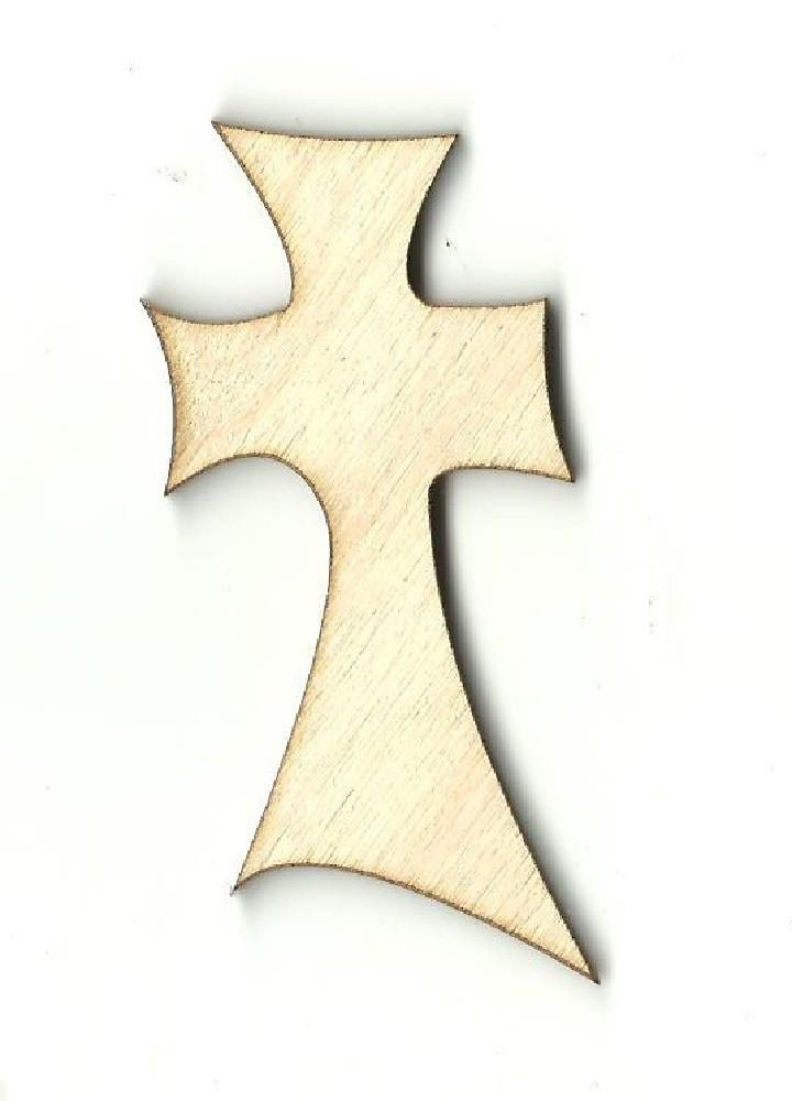 Cross - Laser Cut Wood Shape Rel25 Craft Supply
