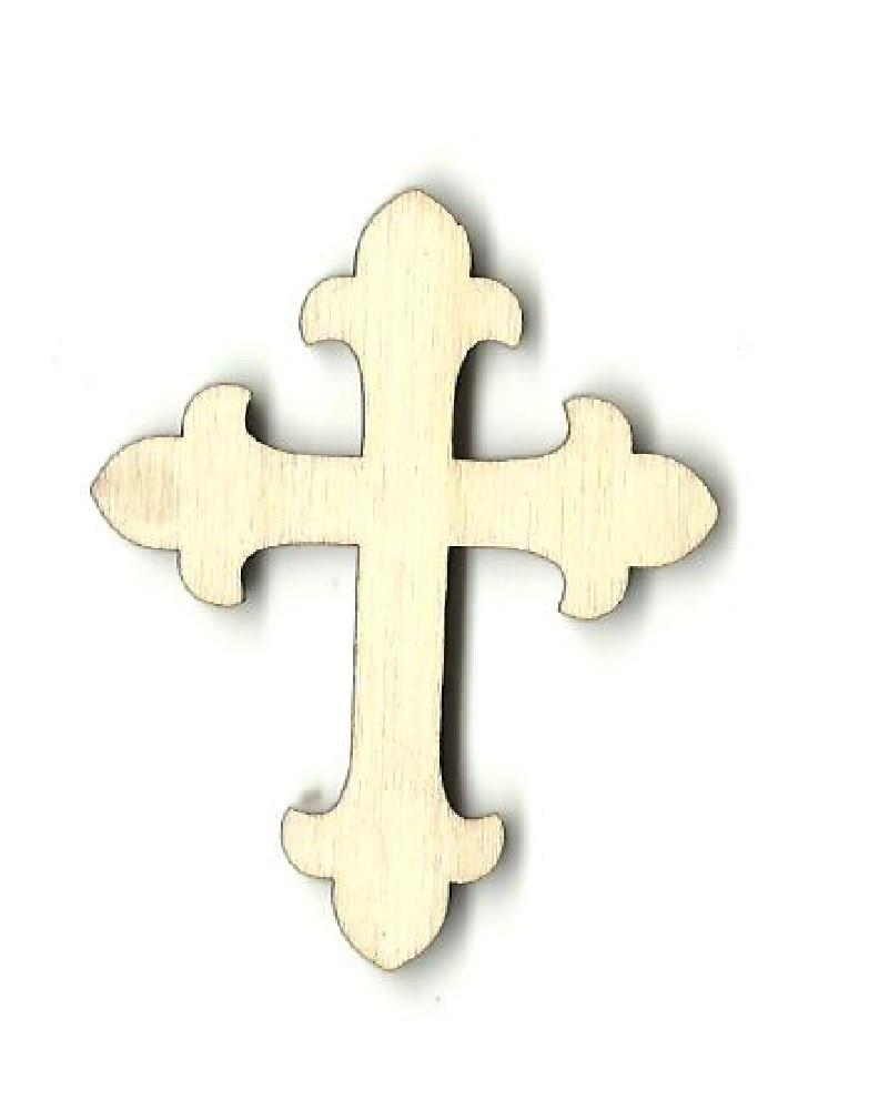 Cross - Laser Cut Wood Shape Rel28 Craft Supply