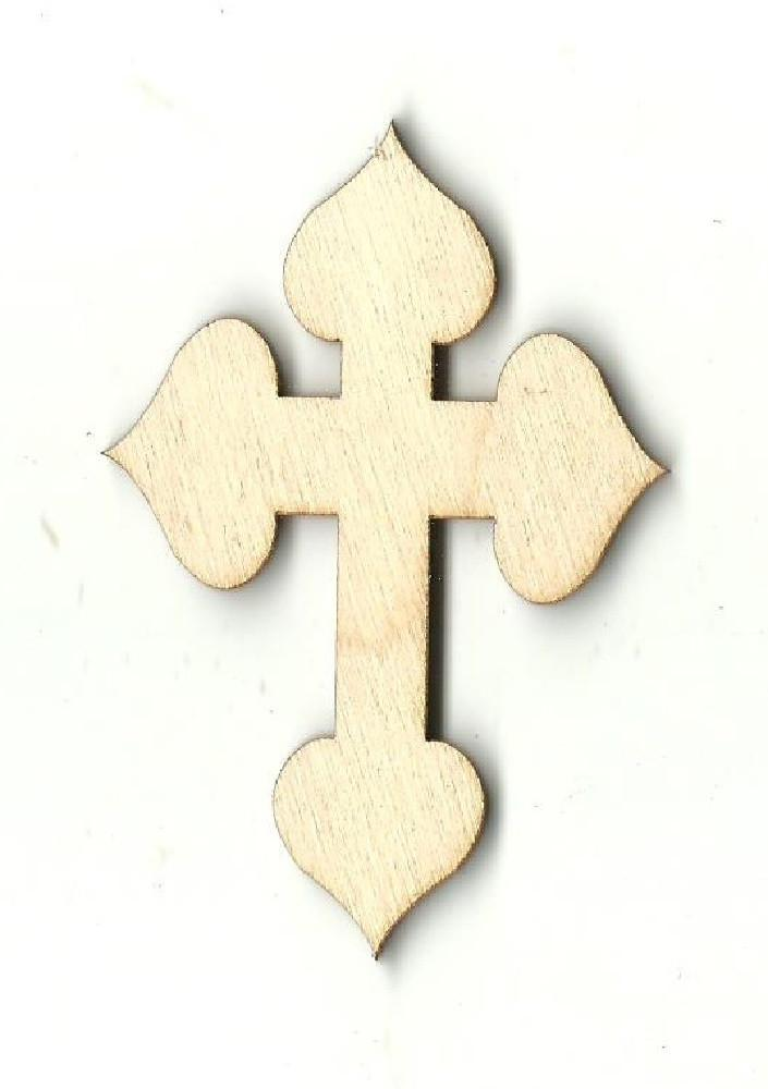 Cross - Laser Cut Wood Shape Rel32 Craft Supply
