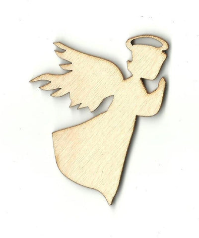 Angel - Laser Cut Wood Shape Rel38 Craft Supply