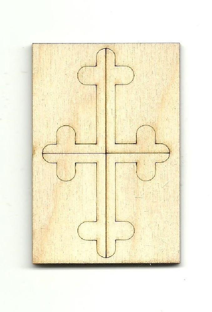 Cross - Laser Cut Wood Shape Rel39 Craft Supply