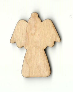 Angel - Laser Cut Wood Shape Rel43 Craft Supply