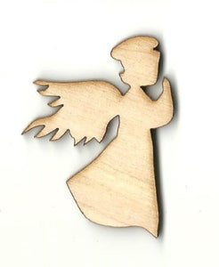 Angel - Laser Cut Wood Shape Rel47 Craft Supply