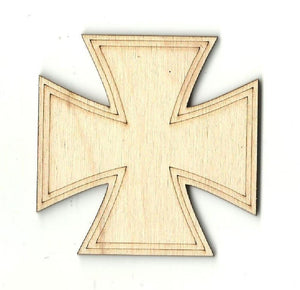 Cross - Laser Cut Wood Shape Rel4 Craft Supply
