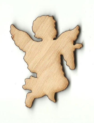 Angel - Laser Cut Wood Shape Rel52 Craft Supply