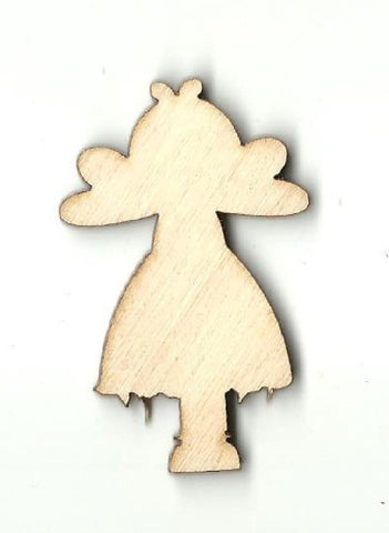 Angel - Laser Cut Wood Shape Rel57 Craft Supply