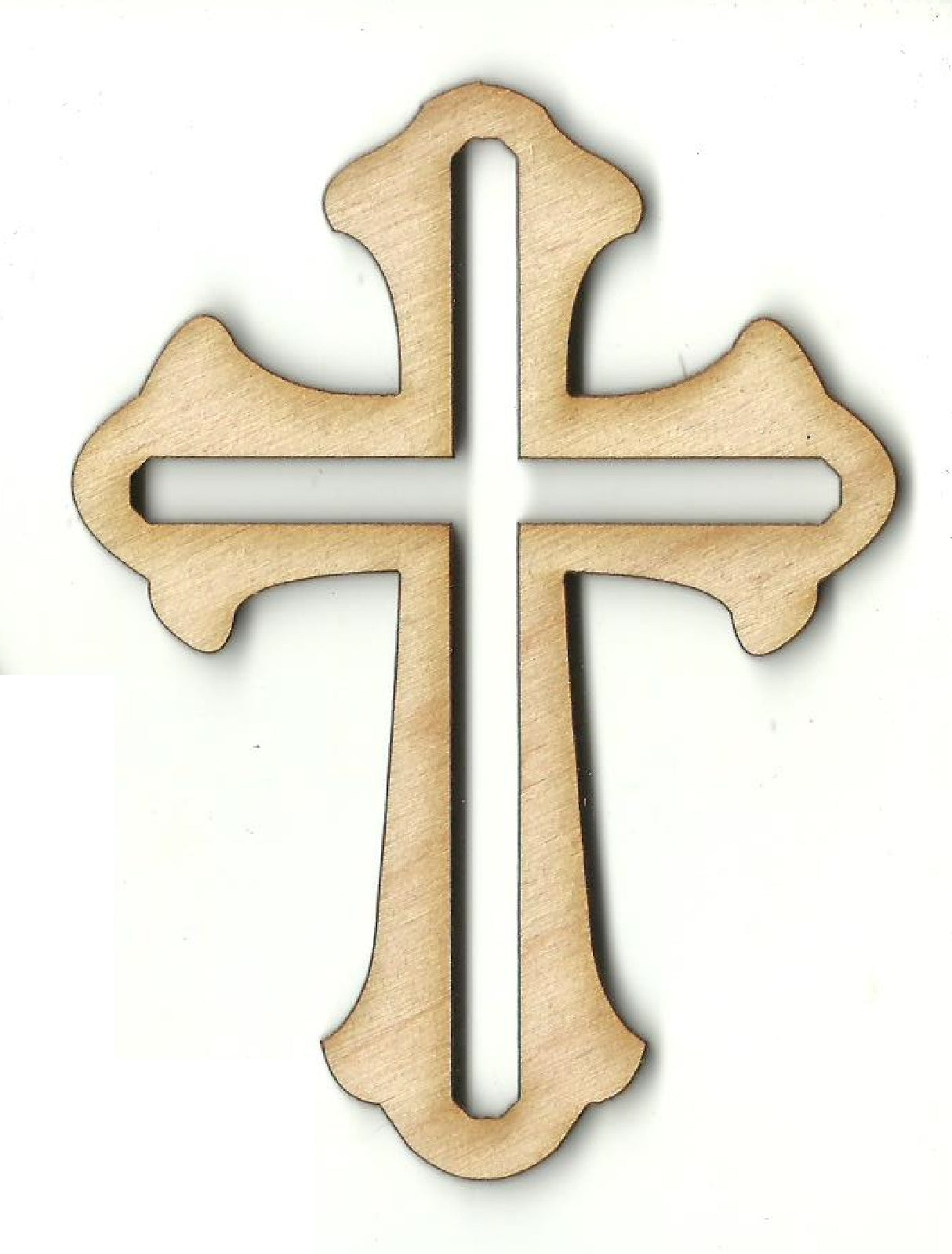 Cross - Laser Cut Wood Shape REL79