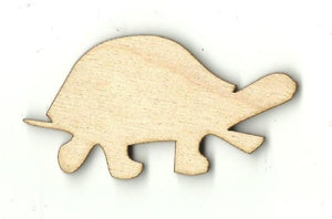 Tortoise Turtle - Laser Cut Wood Shape Rep12 Craft Supply