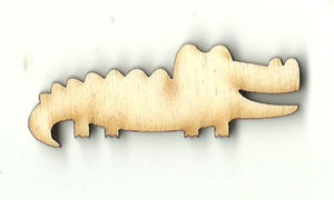 Alligator Crocodile - Laser Cut Wood Shape REP49
