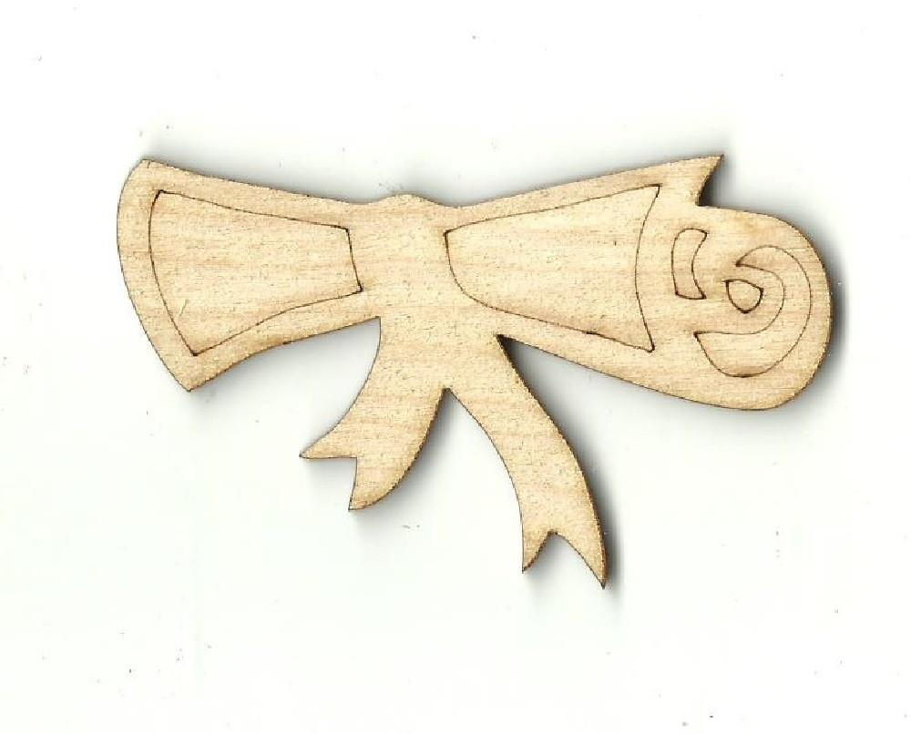 Diploma - Laser Cut Wood Shape Scl2 Craft Supply
