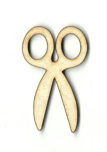 Scissors - Laser Cut Wood Shape Scl18 Craft Supply