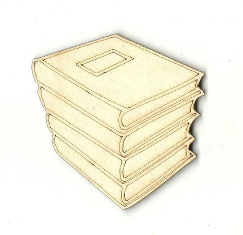 Books - Laser Cut Wood Shape Scl4 Craft Supply