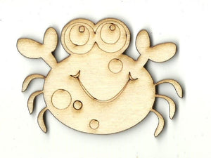 Crab - Laser Cut Wood Shape Sea113 Craft Supply