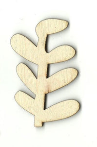 Seaweed - Laser Cut Wood Shape Sea121 Craft Supply