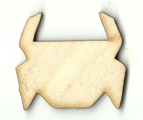 Crab - Laser Cut Wood Shape SEA140