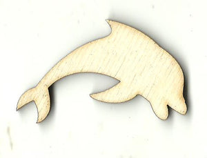 Dolphin - Laser Cut Wood Shape SEA154