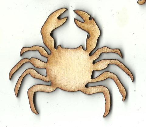 Crab - Laser Cut Wood Shape SEA167