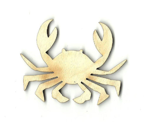 Crab - Laser Cut Wood Shape Sea3 Craft Supply