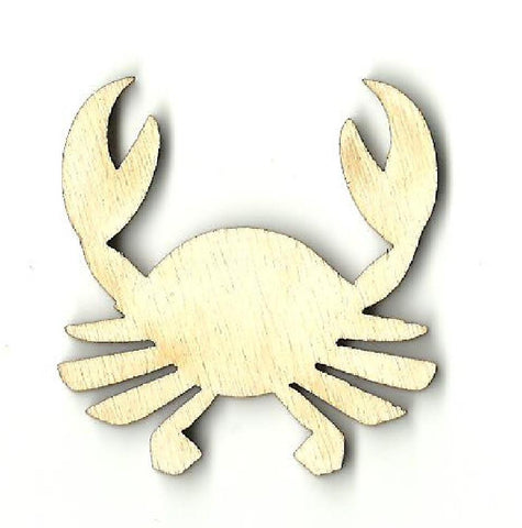 Crab - Laser Cut Wood Shape Sea4 Craft Supply
