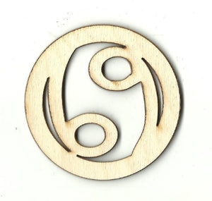 Cancer Sign - Laser Cut Wood Shape Sgn81 Craft Supply