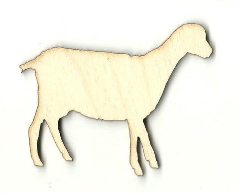 Lamb - Laser Cut Wood Shape Shp10 Craft Supply