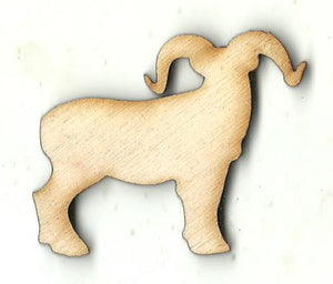 Ram - Laser Cut Wood Shape SHP31