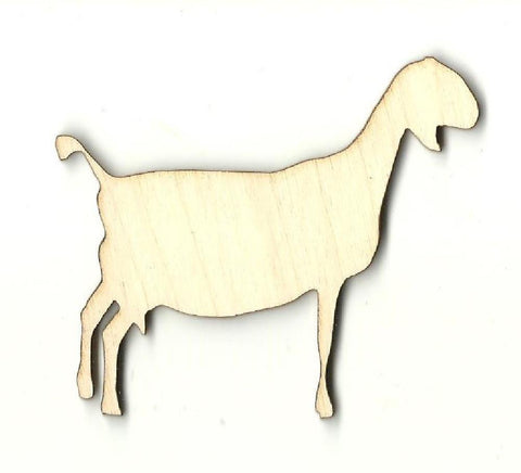 Goat - Laser Cut Wood Shape Shp9 Craft Supply