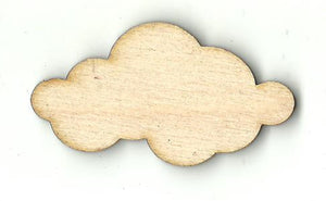 Cloud - Laser Cut Wood Shape SKY85