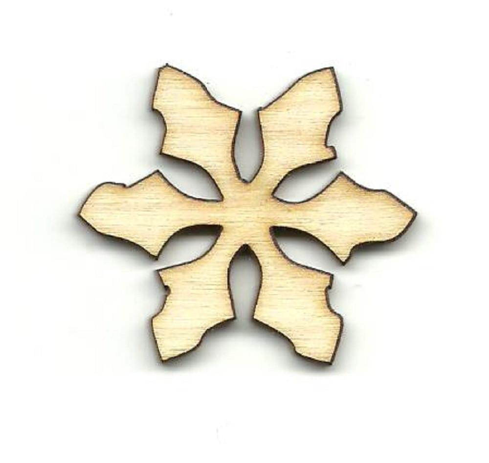 Snowflake - Laser Cut Wood Shape Snw79 Craft Supply