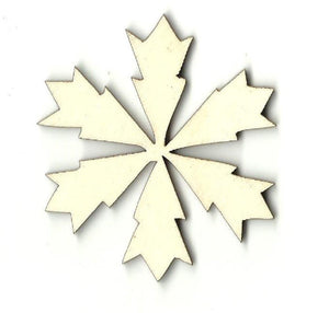 Snowflake - Laser Cut Wood Shape Snw10 Craft Supply