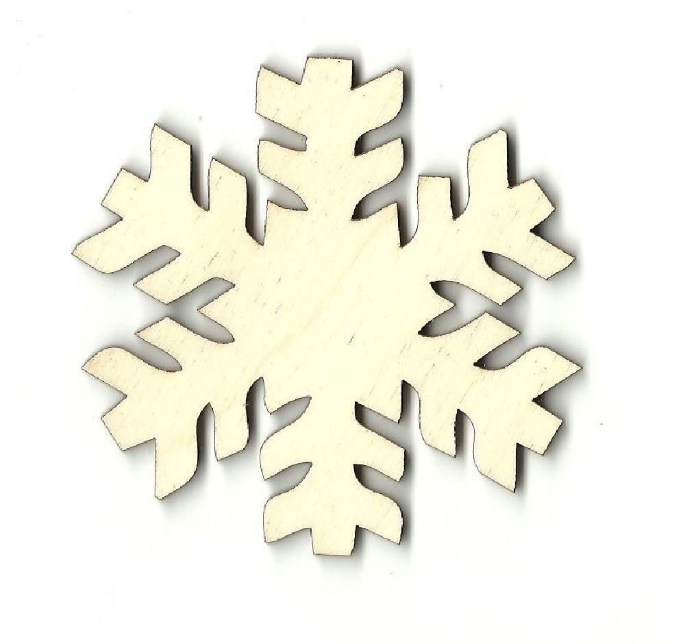 Snowflake - Laser Cut Wood Shape Snw13 Craft Supply