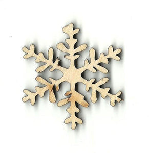 Snowflake - Laser Cut Wood Shape Snw49 Craft Supply