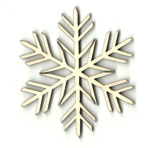 Snowflake - Laser Cut Wood Shape Snw6 Craft Supply