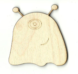 Alien - Laser Cut Wood Shape Spc11 Craft Supply