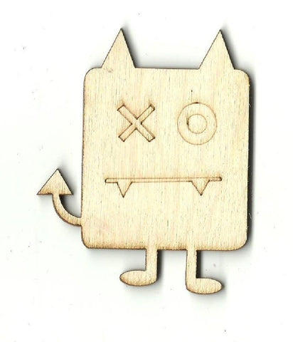 Alien - Laser Cut Wood Shape Spc12 Craft Supply