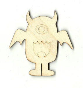 Alien - Laser Cut Wood Shape Spc13 Craft Supply