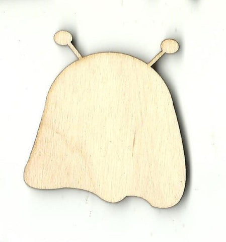 Alien - Laser Cut Wood Shape SPC21