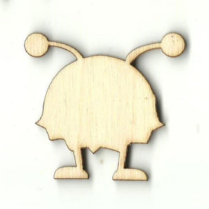 Alien - Laser Cut Wood Shape Spc22 Craft Supply
